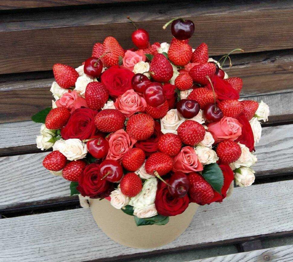 вещица букет из ягод и цветов картинки красивые своем